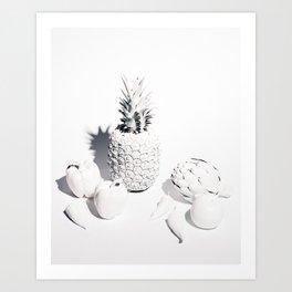 WHITE PRODUCE Art Print