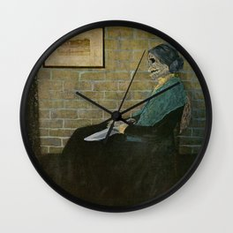 Psycho's Mother Wall Clock