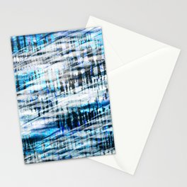 winter spirit abstract digital painting Stationery Cards