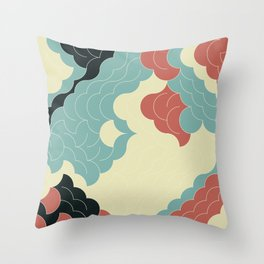 Abstract Geometric Artwork 90 Throw Pillow