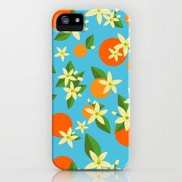 Orange Blossom Daydreams iPhone Case