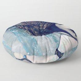 Zodiac Sign: Aquarius Floor Pillow