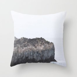 Blue Scape Throw Pillow