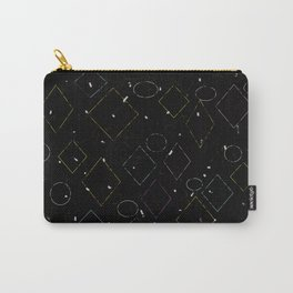 Tipping Squares Carry-All Pouch