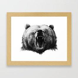 Bear HOBO Framed Art Print
