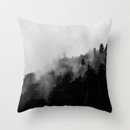 Eagle Creek Fog Throw Pillow