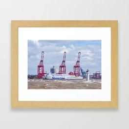 Stena Nordica Framed Art Print