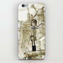 Old new city iPhone Skin