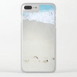 Carribean sea 10 Clear iPhone Case