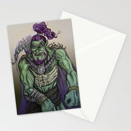 Ork Warrior Stationery Cards