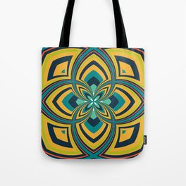 Spiral Rose Pattern B 4/4 Tote Bag