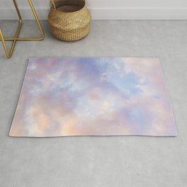 Pink sky / Photo of heavenly sky Rug