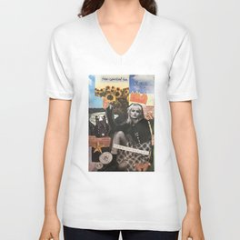 art collage 3 Unisex V-Neck