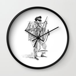 Rip, Rig, & Panic Wall Clock
