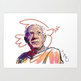 Pablo Art Print