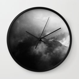 In the mountains | Im Gebirge Wall Clock