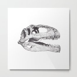 The Anatomy of a Dinosaur II - Jurassic Park Metal Print