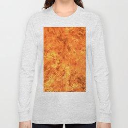 fire wall Long Sleeve T-shirt