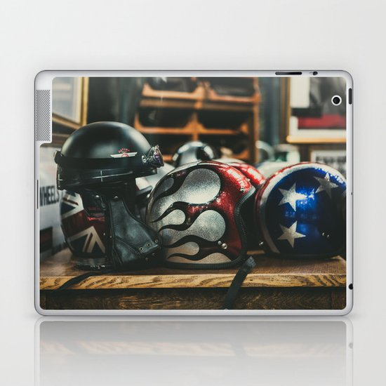 Helmets Laptop & iPad Skin