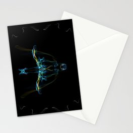 Armored Fae Stationery Cards