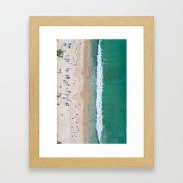 Shorebreak Framed Art Print