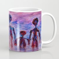family Mugs featuring Family by teddynash