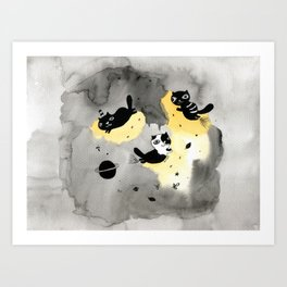 My planet Art Print