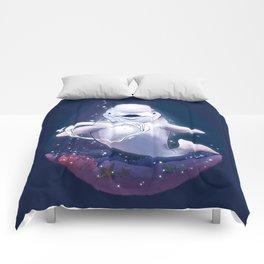 Beluga Whale Blow Kiss Comforters