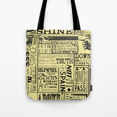Down with the Shine Tote Bag