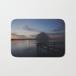 Morro Bay sunset Bath Mat