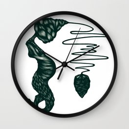 Sensory Deprivation Wall Clock