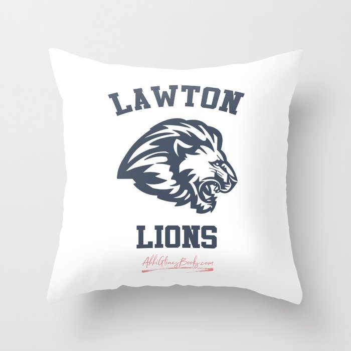 The Field Party - Lawton Lions Throw Pillow