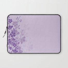 Delicate Purple Flower Laptop Sleeve