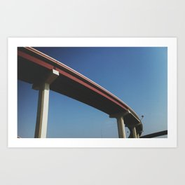 BRIDGED Art Print