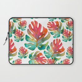 Tropical leaf Laptop Sleeve