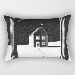 Walking Home/Deposit NY Rectangular Pillow