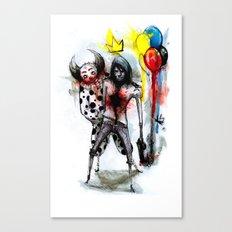 Clown Fun Canvas Print