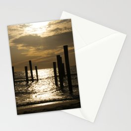 Sunset at sea I – The Netherlands Stationery Cards