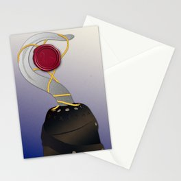 True Love seal Stationery Cards