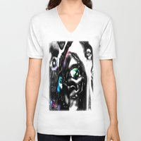 study V-neck T-shirts featuring Study by John Hansen