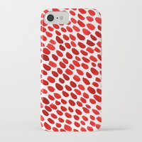 pomegranate iPhone & iPod Cases featuring Pomegranate by Hye Jin Chung