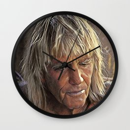 George Greenough Portrait Wall Clock