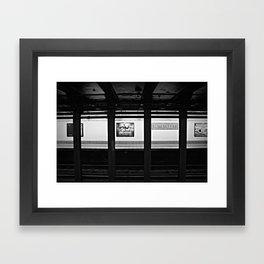 86th Street Framed Art Print