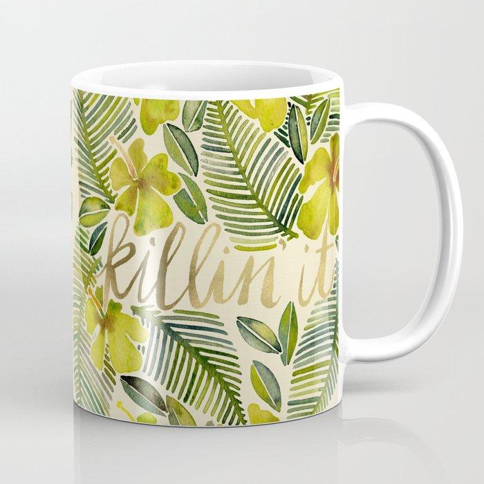 Killin' It – Tropical Yellow Coffee Mug