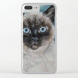 Baby Blu Clear iPhone Case