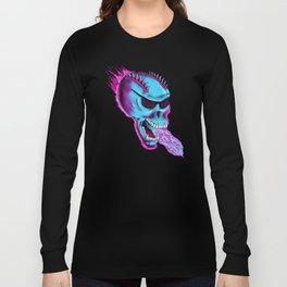 Sonic Skull - Blue Mayhem Long Sleeve T-shirt