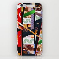 ruben iPhone & iPod Skins featuring Ruben (stripes 19) by Wayne Edson Bryan