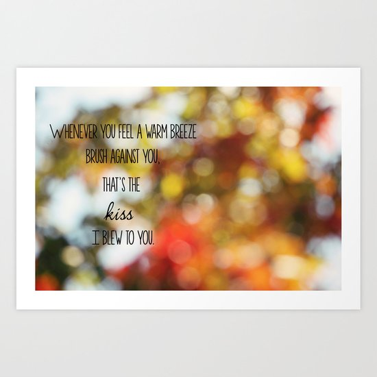 Warm Breeze Art Print