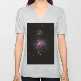 Cosmic Galaxy Unisex V-Neck