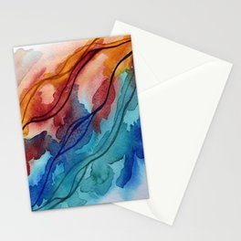 You Set The Water On Fire Stationery Cards